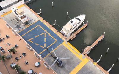 Marina Beach Towers possui o único heliponto da região homologado pela ANAC