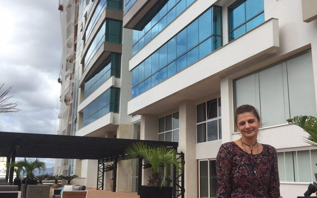 Marina Beach Towers tem assinatura feminina no projeto